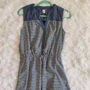 Blue dress size medium GAP